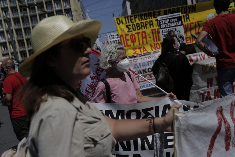 Σε εξέλιξη οι απεργιακές συγκεντρώσεις ενάντια στο εργασιακό νομοσχέδιο- Ποιοι δρόμοι είναι κλειστοί