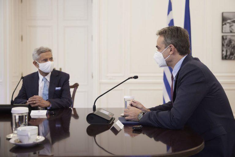 Κυρ. Μητσοτάκης: Η Ελλάδα είναι φυσικό σημείο εισόδου για τις ινδικές επιχειρήσεις στην ευρωπαϊκή αγορά