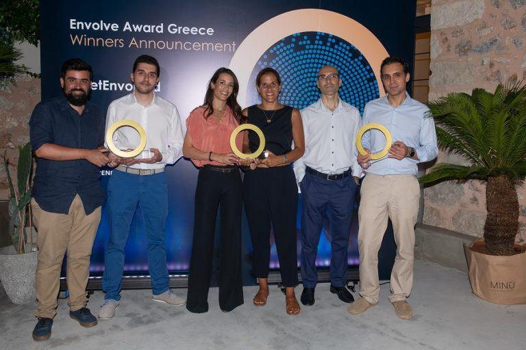 Ανακοινώθηκαν οι νικητές του όγδοου Envolve Award Greece