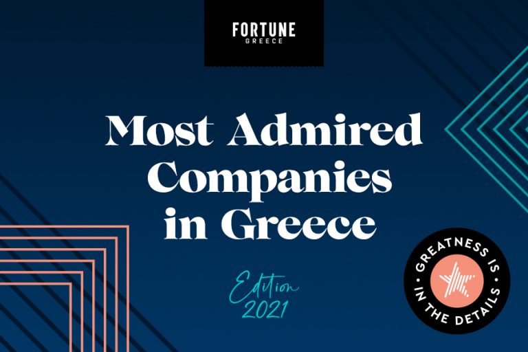 Most Admired Companies in Greece 2021: What makes your company Great?