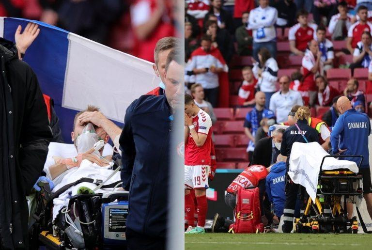 «Σταθεροποιήθηκε» η κατάσταση του Έρικσεν μετά την κατάρρευση στο γήπεδο