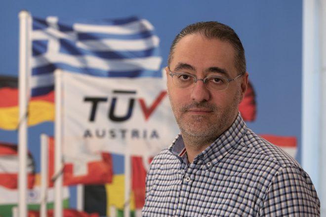 Ιωάννης Καλλιάς (TÜV AUSTRIA Hellas): Η πιστοποίηση είναι εχέγγυο αξιοπιστίας και επιχειρηματικής επιτυχίας