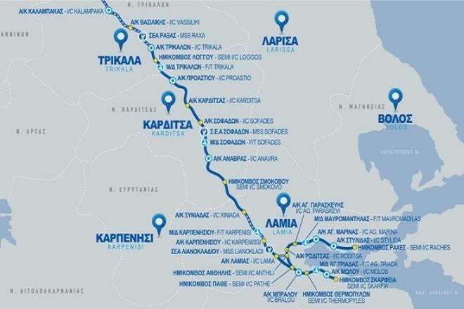 Ε65: Παραδίδονται στην κυκλοφορία τα πρώτα 14 χιλιόμετρα του Νοτίου τμήματος