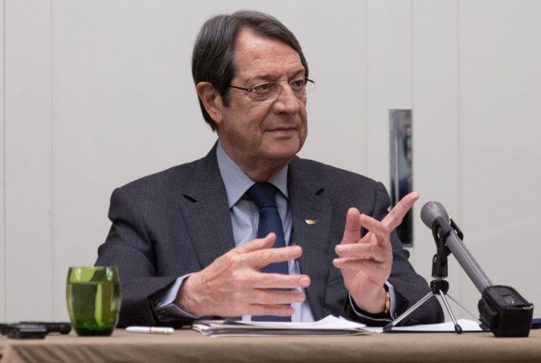 Εθνικό Συμβούλιο συγκάλεσε ο Νίκος Αναστασιάδης