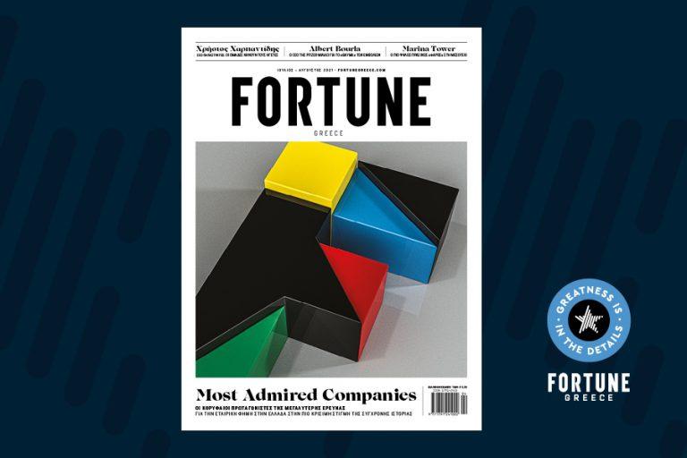 Οι πιο Aξιοθαύμαστες Επιχειρήσεις στην Ελλάδα: Πού θα βρείτε το νέο τεύχος του Fortune