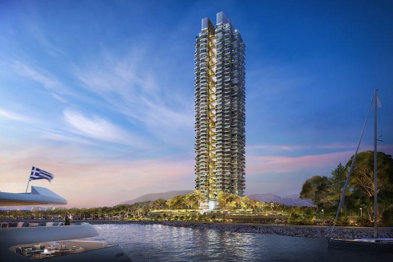 Μεγάλο ενδιαφέρον για τα διαμερίσματα του ουρανοξύστη Marina Tower
