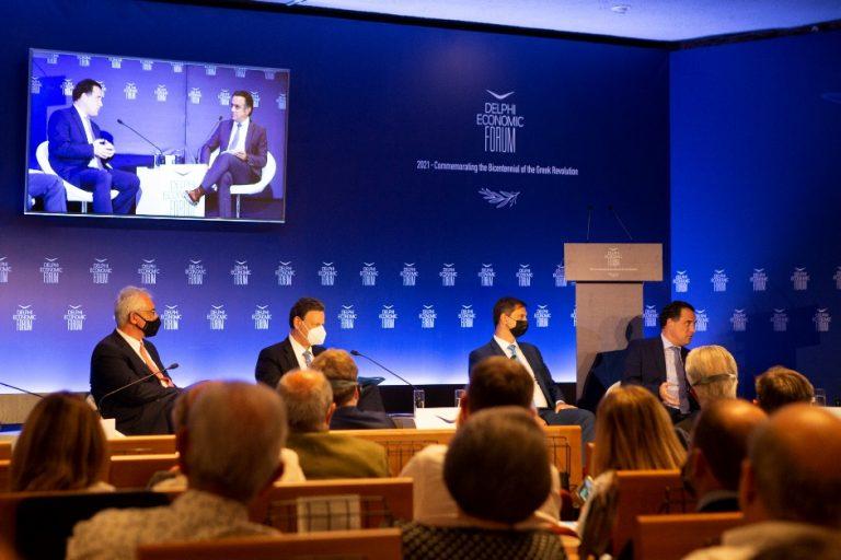 Θ. Σκυλακάκης: Στόχος τα 20 δισ που θα πάρει η χώρα μας από το Ταμείο Ανάκαμψης να δημιουργήσουν μία μόχλευση της τάξης των 60 δισ. ευρώ