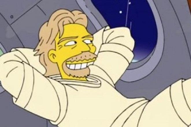 Οι Simpsons προέβλεψαν πριν από επτά χρόνια το ταξίδι του Ρίτσαρντ Μπράνσον στο διάστημα