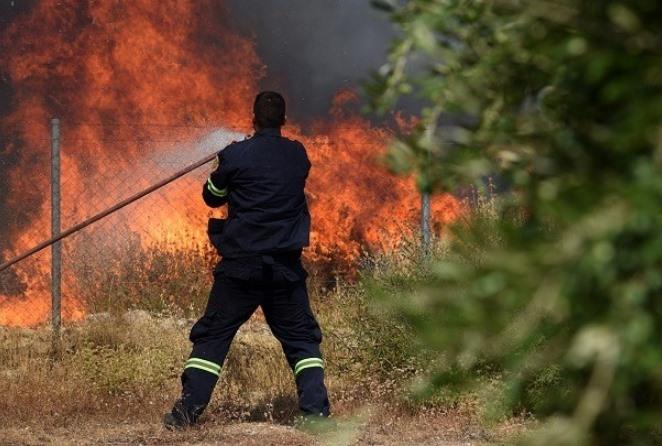 Η πυρκαγιά στα Βίλια είναι οριοθετημένη- Συνεχίζονται οι προσπάθειες κατάσβεσης