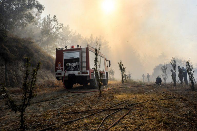 Σε κατάσταση έκτακτης ανάγκης δύο περιοχές της Ρόδου μετά τις καταστροφές από την πυρκαγιά