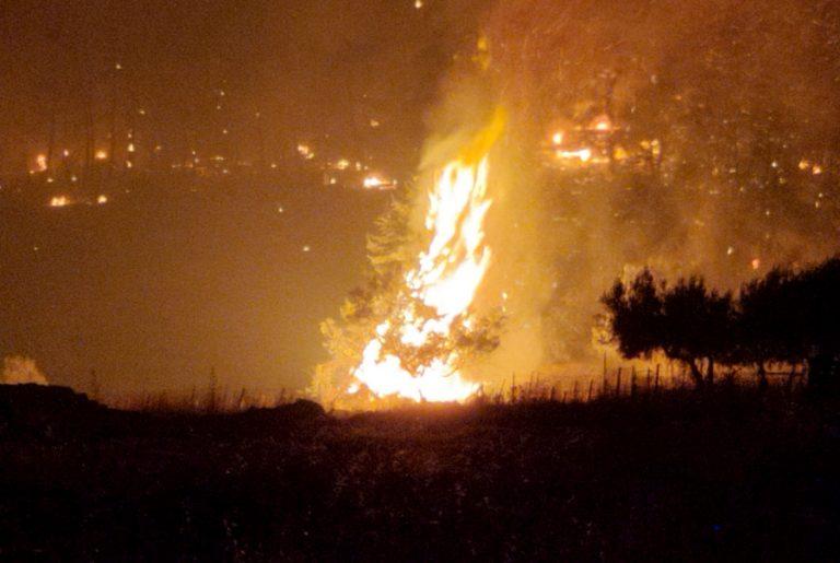 Μάχη με τις αναζωπυρώσεις στην Αττική- Βελτιωμένη η κατάσταση αλλά επικίνδυνη, λένε οι πυροσβέστες