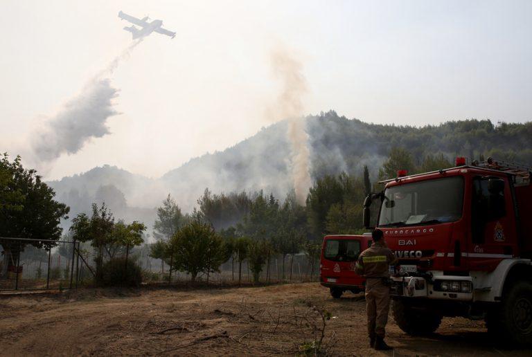 Φωτιές στην Ηλεία: Νέα εντολή εκκένωσης οικισμών στην Αρχαία Ολυμπία