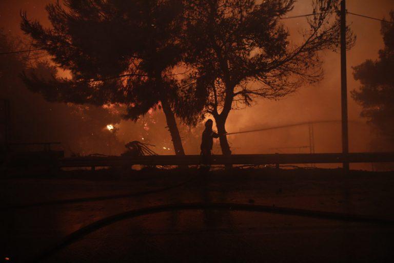 Δίωξη σε βαθμό κακουργήματος στον 43χρονο για τη φωτιά στο Κρυονέρι