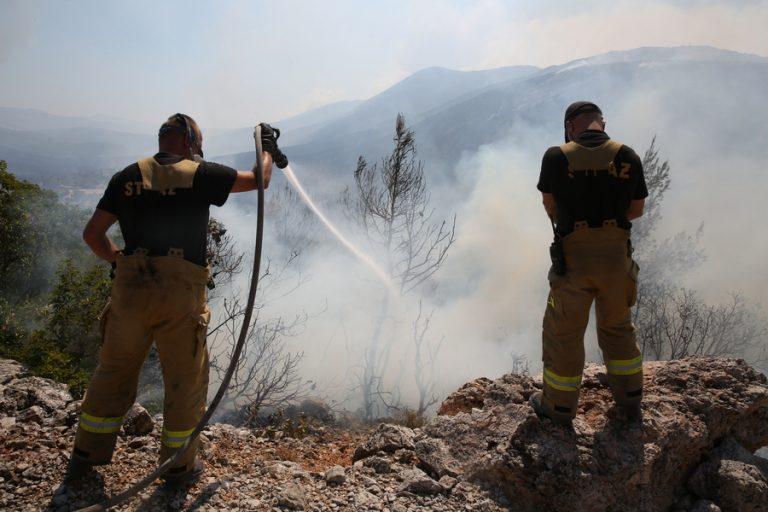 Καλύτερη η κατάσταση στην πυρκαγιά στα Βίλια – Στη μάχη και τα δύο ρωσικά μεγαθήρια «Ιλιούσιν»