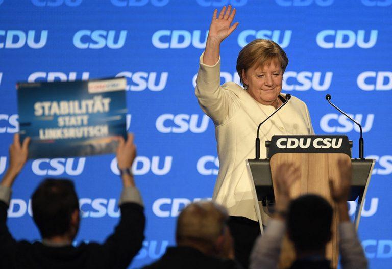 Ντέρμπι μέχρι την τελευταία στιγμή μεταξύ CDU και SPD στη Γερμανία δίνει μια νέα δημοσκόπηση