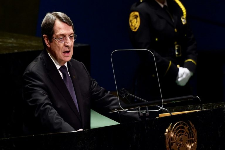 Συνάντηση Αναστασιάδη-Ελπιδοφόρου στη Νέα Υόρκη- «Έληξε το θέμα»