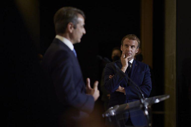 Αμυντική συνεργασία Ελλάδας – Γαλλίας: Μητσοτάκης και Μακρόν ανακοινώνουν τη συμφωνία για τρεις φρεγάτες και τρεις κορβέτες