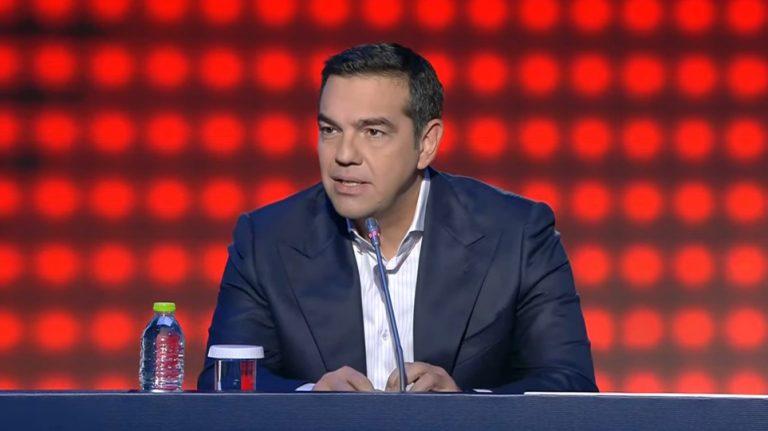 H συνέντευξη τύπου του προέδρου του ΣΥΡΙΖΑ: «Αν τολμά ο κ. Μητσοτάκης ας προκηρύξει εκλογές»
