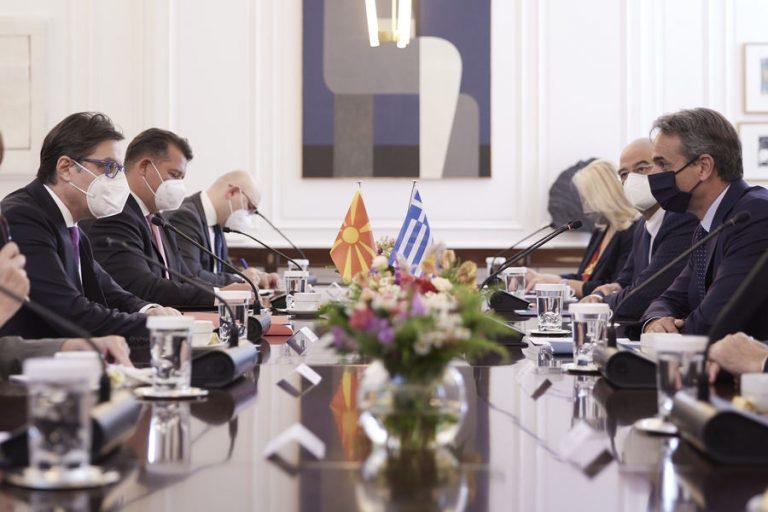 Μητσοτάκης: Η Συμφωνία των Πρεσπών οδηγός για τη στήριξη της ευρωπαϊκής ένταξης της Β.Μακεδονίας