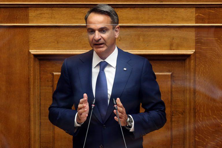 Μητσοτάκης: H έγκριση της συμφωνίας με τη Γαλλία σημαίνει θωράκιση της χώρας
